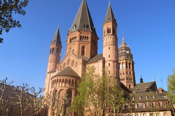Mainz Cathedral - St. Martin's Cathedral in Mainz