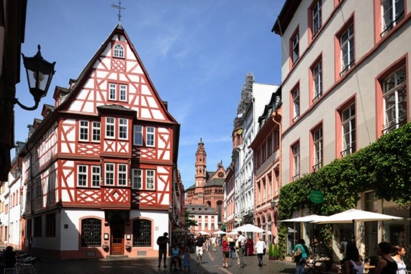 Old Town  in Mainz